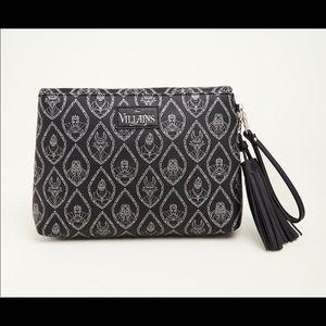 Torrid Disney Villians tassel clutch purse